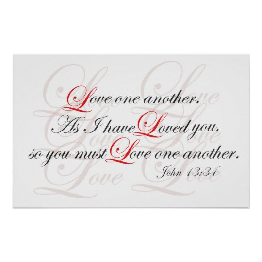 Love One Another Poster