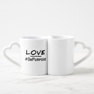 Love #OnPurpose Mugs