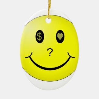 Love or Money or Love Money? Christmas Ornament