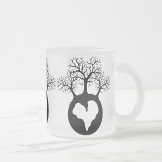 LOVE OUR EARTH PLANET LOGO SYMBOL CAUSES MOTIVATIO COFFEE MUG