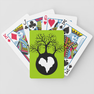 LOVE OUR EARTH PLANET LOGO SYMBOL CAUSES MOTIVATIO CARD DECK