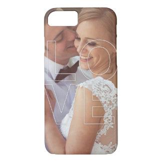 LOVE Overlay Custom Photo iPhone Case