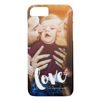 """Love"" Overlay Photo iPhone 8/7 Case"