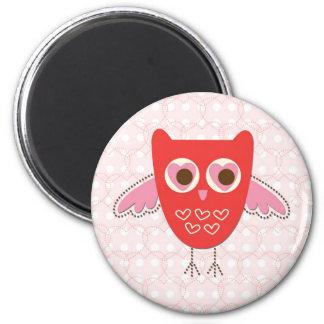 love owl magnet