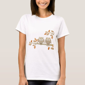 Love Owls in Tree T-Shirt