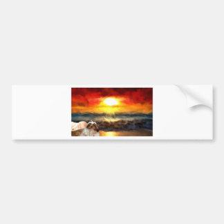 Love_Painting.jpg Bumper Stickers