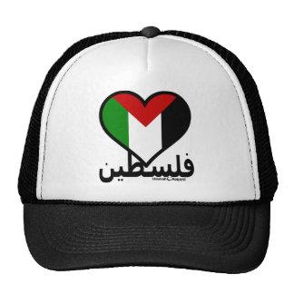 Love Palestine Mesh Hats