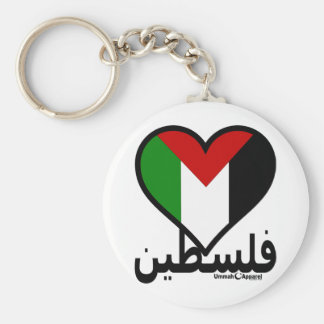 Love Palestine Key Ring