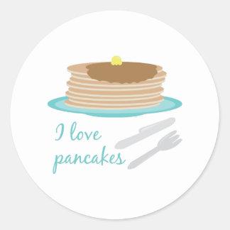 Love Pancakes Stickers