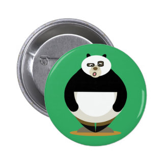 Love Panda 6 Cm Round Badge
