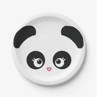Love Panda® 7 Inch Paper Plate