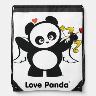 Love Panda® Drawstring Backpacks