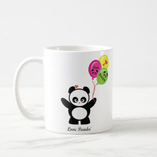 Love Panda® Basic White Mug