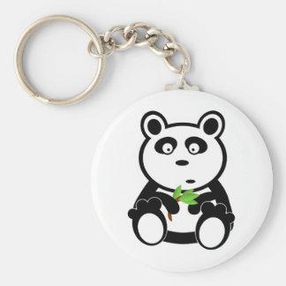 Love panda bear key ring