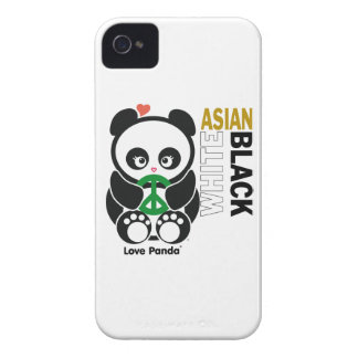 Love Panda® BlackBerry Bold Case-Mate Barely There Case-Mate iPhone 4 Cases