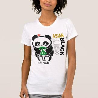 Love Panda® Destroyed Ladies Apparel Tshirt