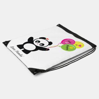 Love Panda® Drawstring Backpack
