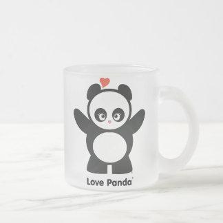 Love Panda® Frosted Glass Mug