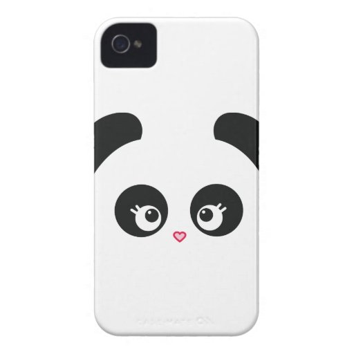 Love Panda® iPhone 4/4S Case-Mate Barely There™ iPhone 4 Case-Mate Cases