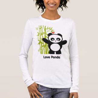Love Panda® Ladies Long Sleeve Long Sleeve T-Shirt
