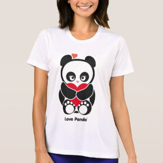 Love Panda® Micro-Fiber Ladies Apparel T-Shirt