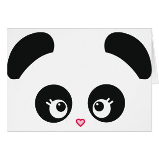 Love Panda® Note Card