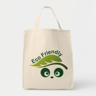 Love Panda® Organic Grocery Tote Bag