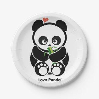 Love Panda® Paper Plate