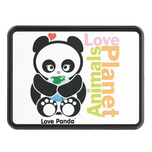 Love Panda® Tow Hitch Covers