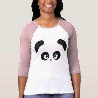 Love Panda® Raglan Ladies Apparel T Shirt