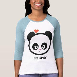 Love Panda® Raglan Ladies Apparel T Shirts