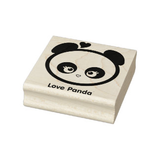Love Panda® Rubber Stamp