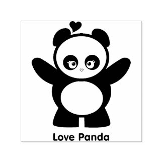 Love Panda® Self-inking Stamp