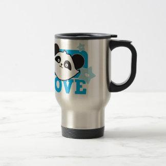 LOVE panda Super cute Kawaii! NP Stainless Steel Travel Mug