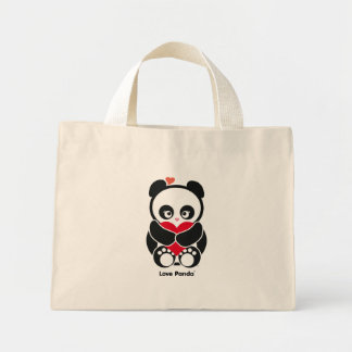 Love Panda® Tiny Tote Bag