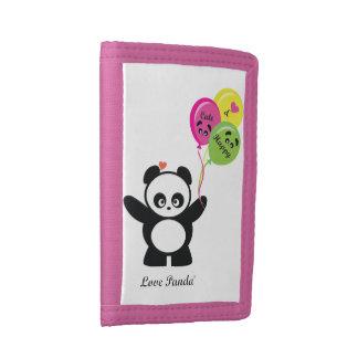 Love Panda® Tri-fold Wallets
