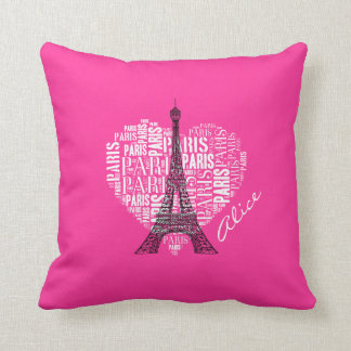 Love Paris | Adorable Eiffel Tower Cushion