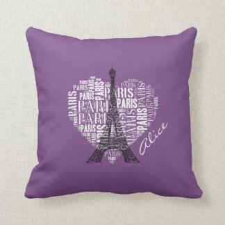 Love Paris | Adorable Eiffel Tower Cushion
