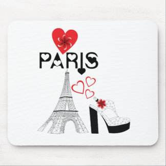 Love Paris fashion Mouse Mat