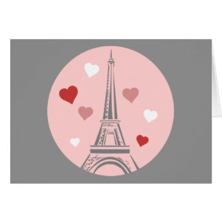 Love Paris Greeting Card