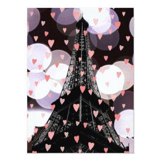 Love Paris Invitation
