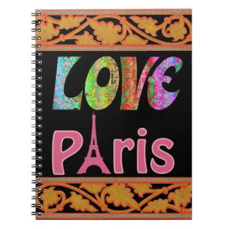 Love Paris Notebook
