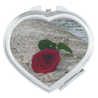 love paris rose mirror compact mirror