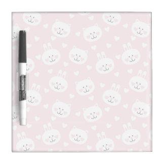 Love Pattern 2 Dry Erase Board