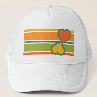 Love pattern hat