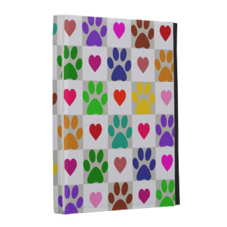 LOVE PAWS iPad Folio Case