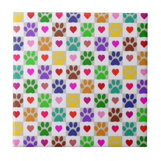 LOVE PAWS Tile