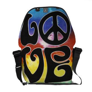 Love & Peace 60s Retro Messenger Bags