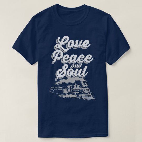 Love Peace And Soul Music Pop Disco Slogan
