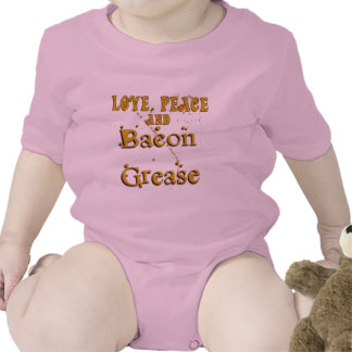 Love Peace & Bacon Grease T-shirts